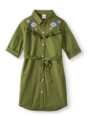 Wonder Nation Shirt Dress (Little Girls, Big Girls and Big Girls Plus)