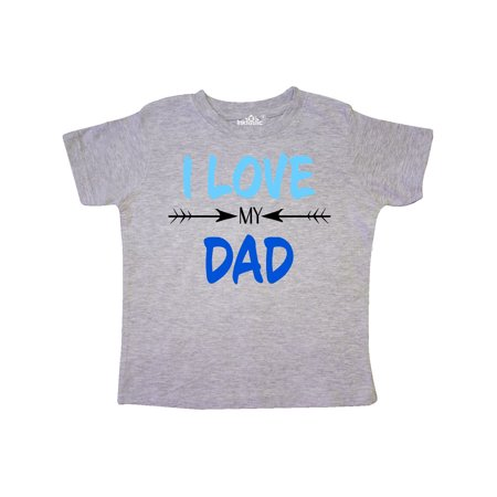 c81a5991 Inktastic - I Love my Dad Fathers Day Toddler T-Shirt - Walmart.com