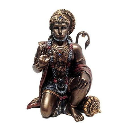 Ebros Gift Ramayana Hanuman Monkey Hindu God Statue Decorative Figurine 6