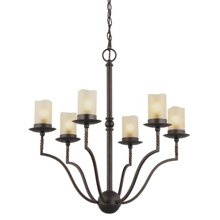 Sea Gull Lighting Trempealeau 3110606-191 6-Light Chandelier