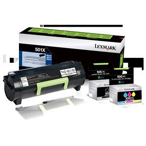 Lexmark (700XKG) CS510 Extra High Yield Black Return Program Toner Cartridge for US Government (8,000 Yield) (TAA Compliant Version of 70C1XK0)