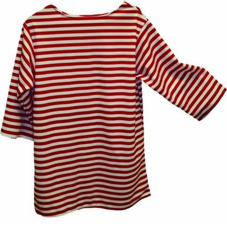 Alexander Costume 22-228-R -Striped Shirt - Red, Large