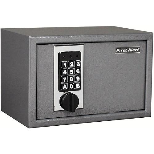 First Alert 2025F 0.28 Cubic Foot Anti-Theft Digital Lock Safe