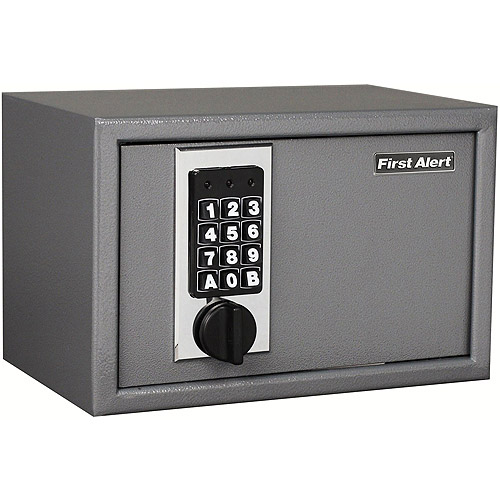 First Alert 2025F 0.28 Cubic Foot Anti-Theft Digital Lock Safe