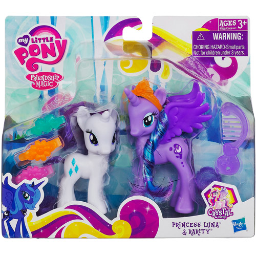 My Little Pony Princess Luna and Rarity Figures A2655