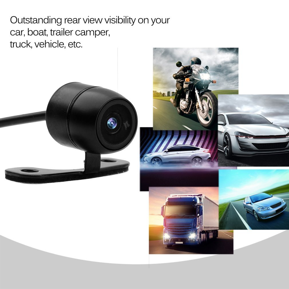 Hot Sale 170 Degrees Wide CMOS Waterproof Camera Rear view of 18.55mm Hole That Reverses Support parking Night Of Camera ABS