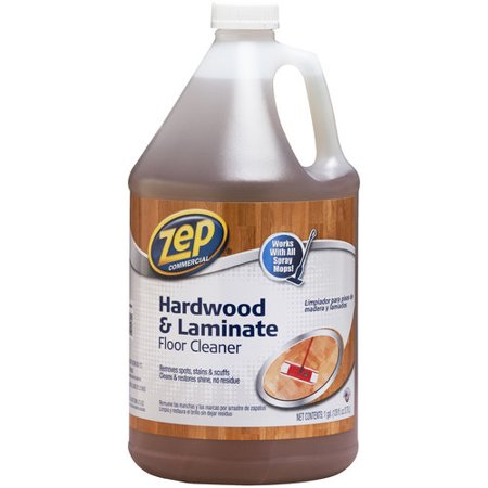 Zep Commercial Hardwood Laminate Floor Cleaner 128 Fl Oz