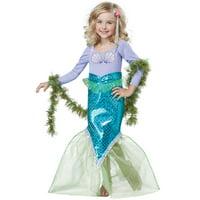 california costumes magical mermaid costume, multi, toddler (4-6)