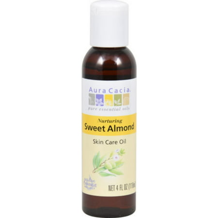 2 Pack - Aura Cacia Sweet Almond Skin Care Oil 4