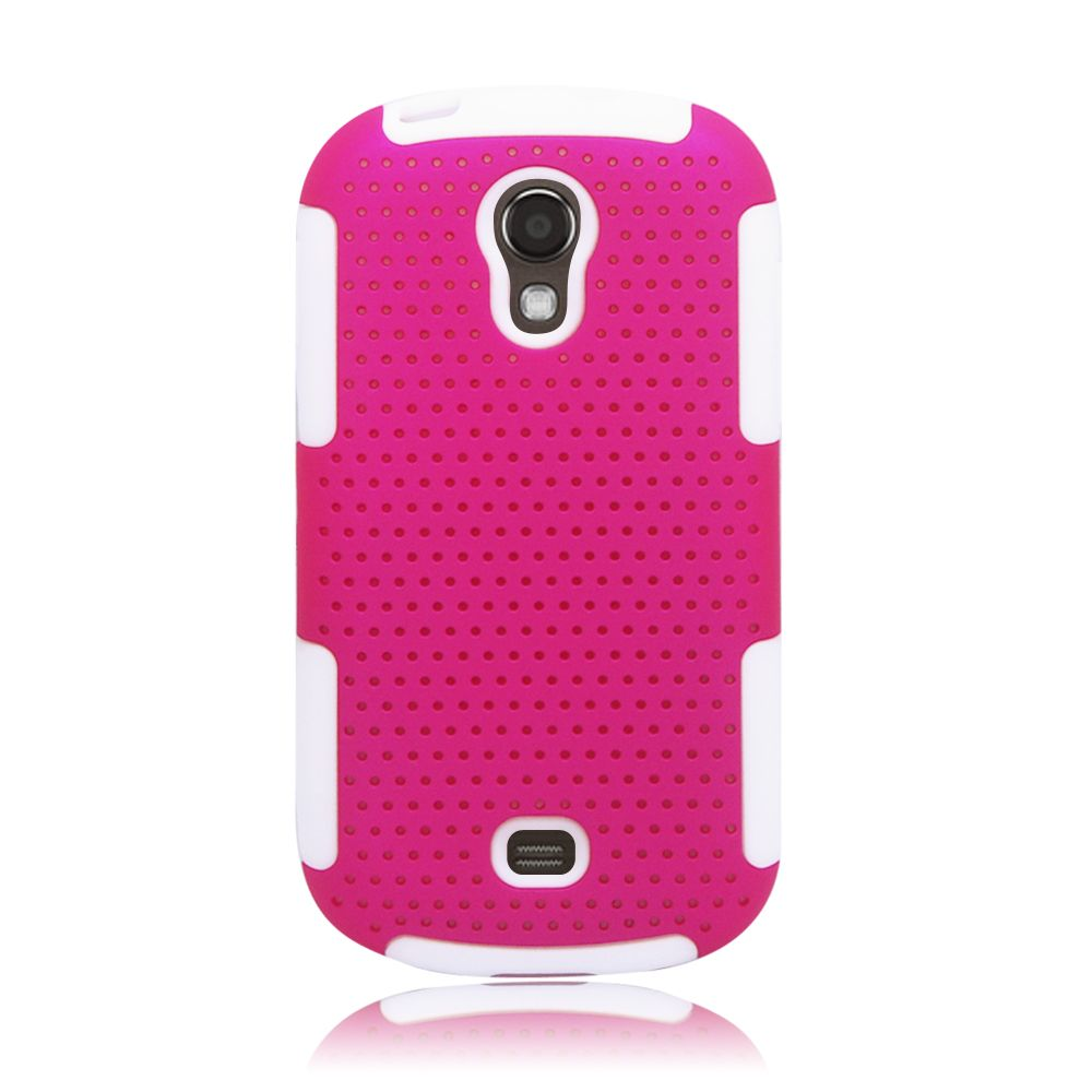 Insten Astronoot Hard Dual Layer TPU Case For Samsung Galaxy Light - Pink/Black - image 3 of 3