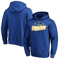 Men's Fanatics Branded Royal Golden State Warriors Super Sweep Pullover Hoodie