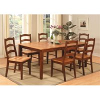 9 Piece Dining Table Set For 8-Dining Table With Leaf and 8 Dining Room Chairs