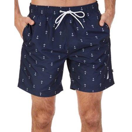 68dd23898d Nautica - Quick Dry Anchor Swim Trunks - Walmart.com