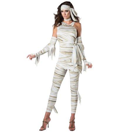 Unwrapped Adult Costume - Beige Prisoner Costume