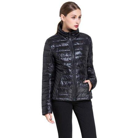 4cdf493027f0c catchydeals - Bel-Air Women's Goose Down Lightweight Puffer Jacket -  Extended Sizes - Walmart.com