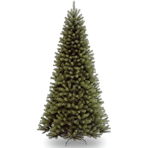 National Tree Unlit 9' North Valley Spruce Hinged Artificial Christmas Tree
