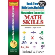 Mastering Essential Math Skills, Book 2, Middle Grades/High School : Re-Designed Library Version