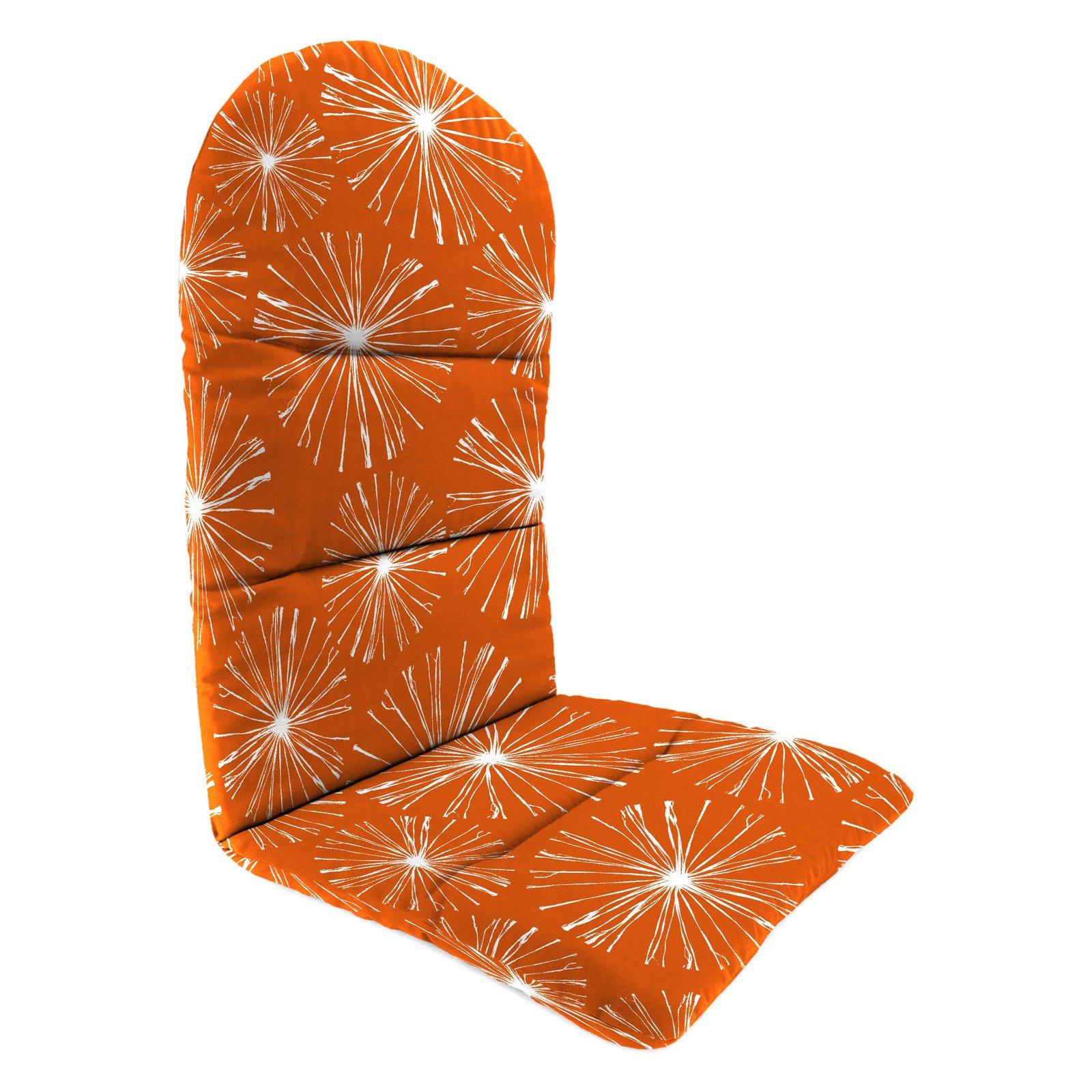 Jordan Manufacturing 49 in. Knife Edge Outdoor Adirondack Chair Cushion - Sparks