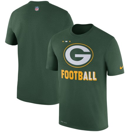 Green Bay Packers Nike Sideline Legend Football Performance T-Shirt - Green