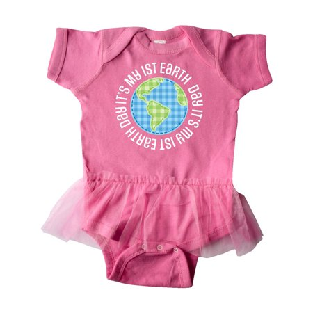 5f8e8ce765 My 1st Earth Day Environment Celebration Party Infant Tutu Bodysuit -  Walmart.com