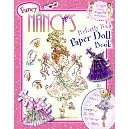 Halloween Paper Dolls To Print (Fancy Nancy's Perfectly Posh Paper Doll Book)