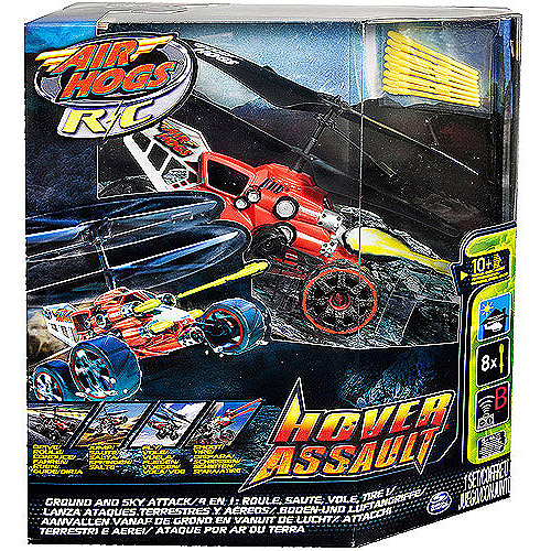Air Hogs Hover Assault Radio-Controlled Helicopter, Red