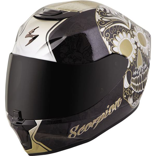 Scorpion EXO EXO-R420 Sugarskull Full Face Helmet