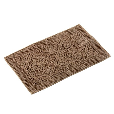 Chocolate Antique Round Rug - Stone Ridge Antique Accent Rug, 27