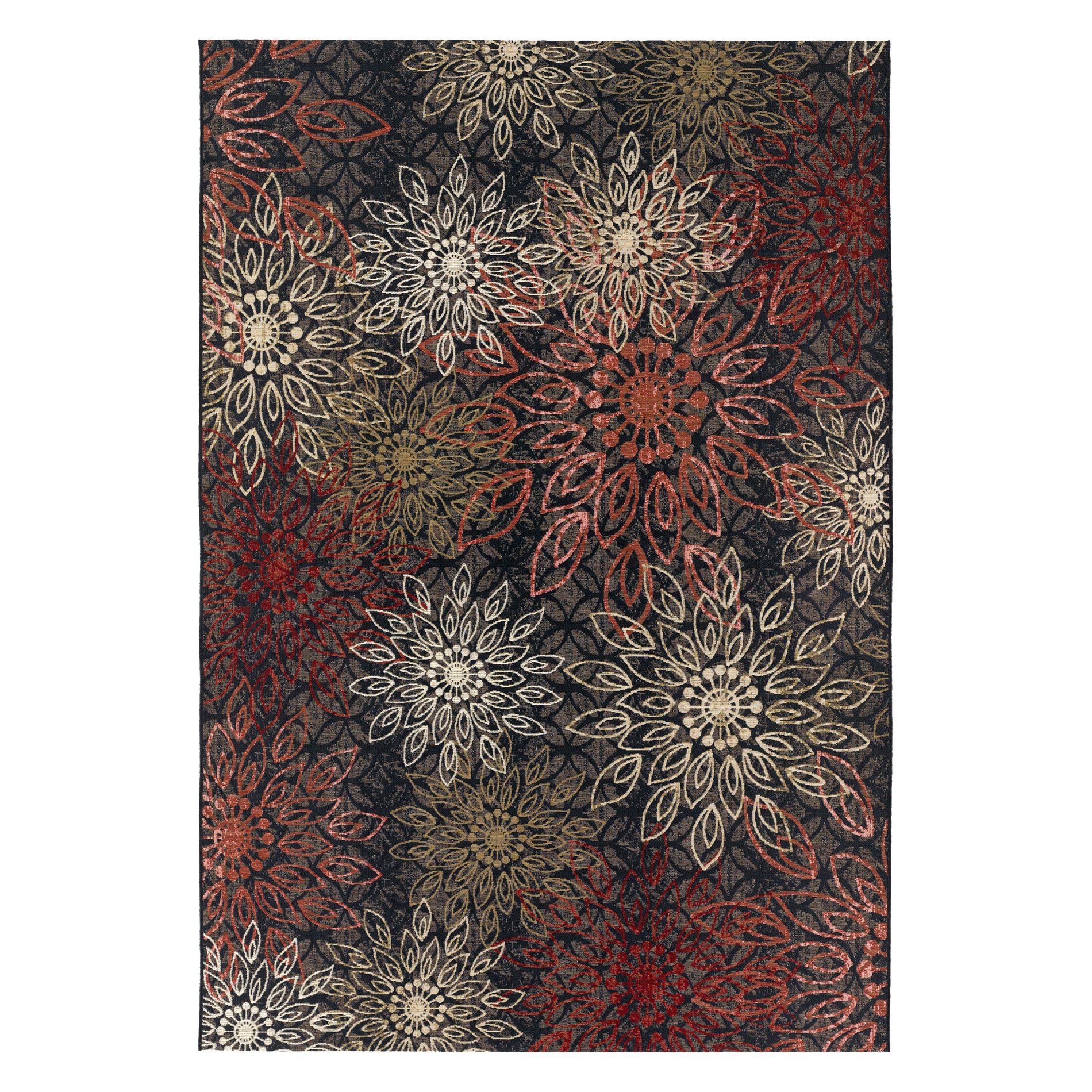 Couristan Dolce Amalfi Flat Woven Indoor/Outdoor Rug, Multi-Color, Multiple Sizes