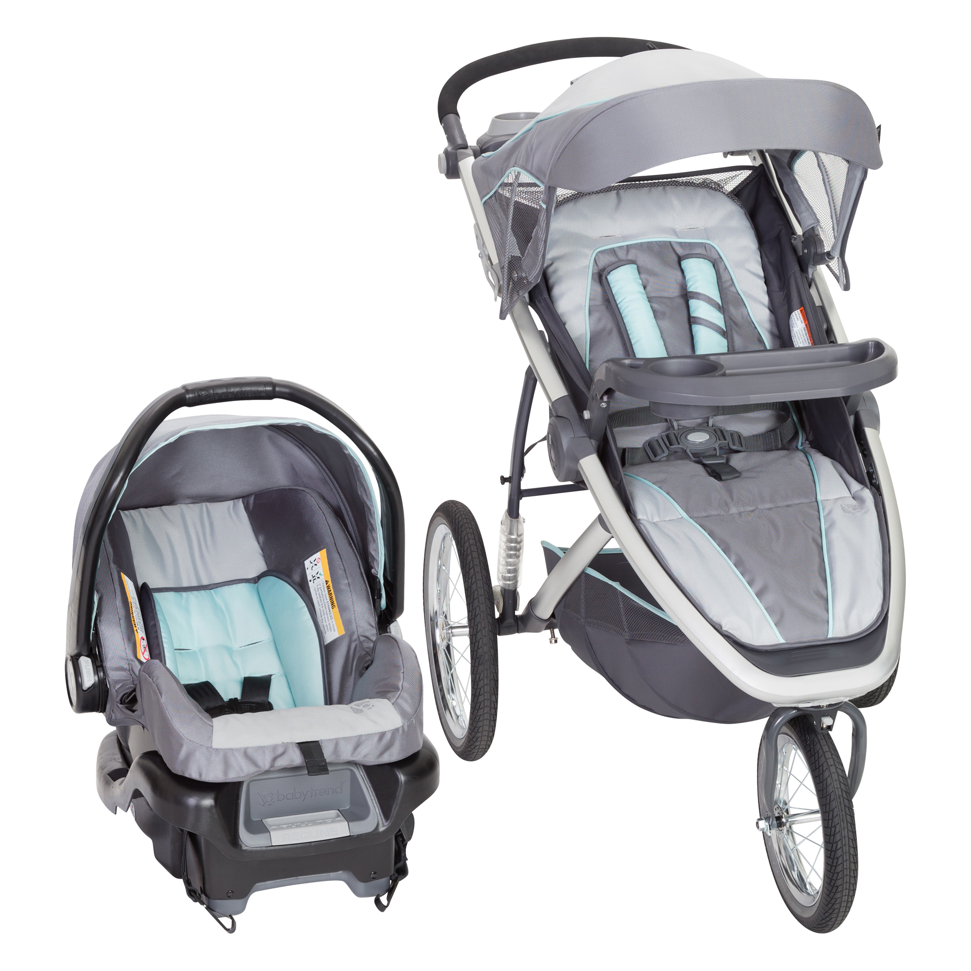 Baby Trend Go-Lite Propel 35 Jogger Travel System Glacier by Baby Trend