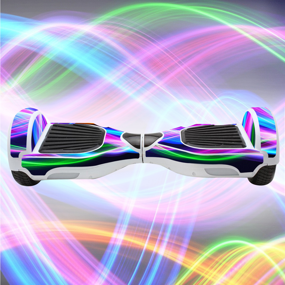 WANLIAN Self Balancing Scooter Sticker,Skin Compatible with Hoverboard Scooter,Hoverboard Vinyl Decal wrap Cover,Smart Hover Scooter Protective Skin Wrap,Easy to Apply and Remove