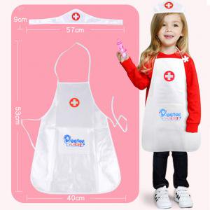 Small Doctor Bag - Fancyleo Children Play Role Play Doctor Clothing Toys Baby Nurse Doctor Performing Small Holiday Gift Hot Sale