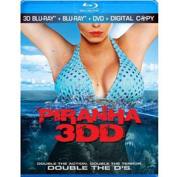 Piranha 3DD Combo