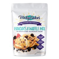 Vicky Cakes Blueberry Vegan-Friendly Dairy-Free Pancake and Waffle Mix