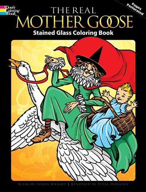 - Dover Coloring Books: The Real Mother Goose Stained Glass Coloring Book  (Paperback) - Walmart.com - Walmart.com