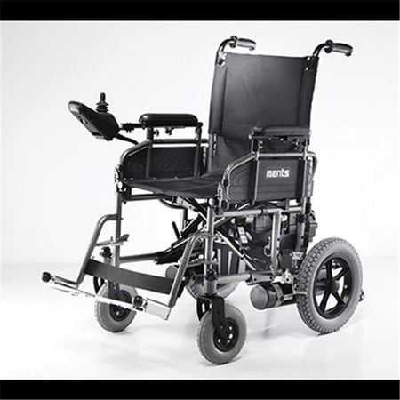 Merits Health Products P101AUAZMU1B 18 in  Folding Power Wheelchair -  Travel-Ease