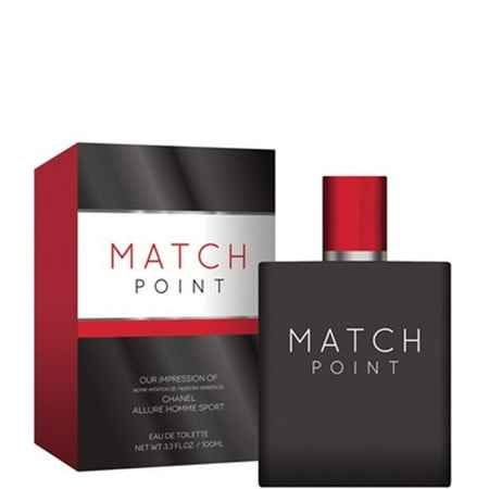 Chanel Allure Sport (Match Point by Preferred Fragrance inspired by ALLURE HOMME SPORT BY CHANEL FOR )
