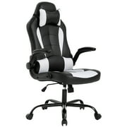 High-Back Racing, Reclining Gaming Chair, White