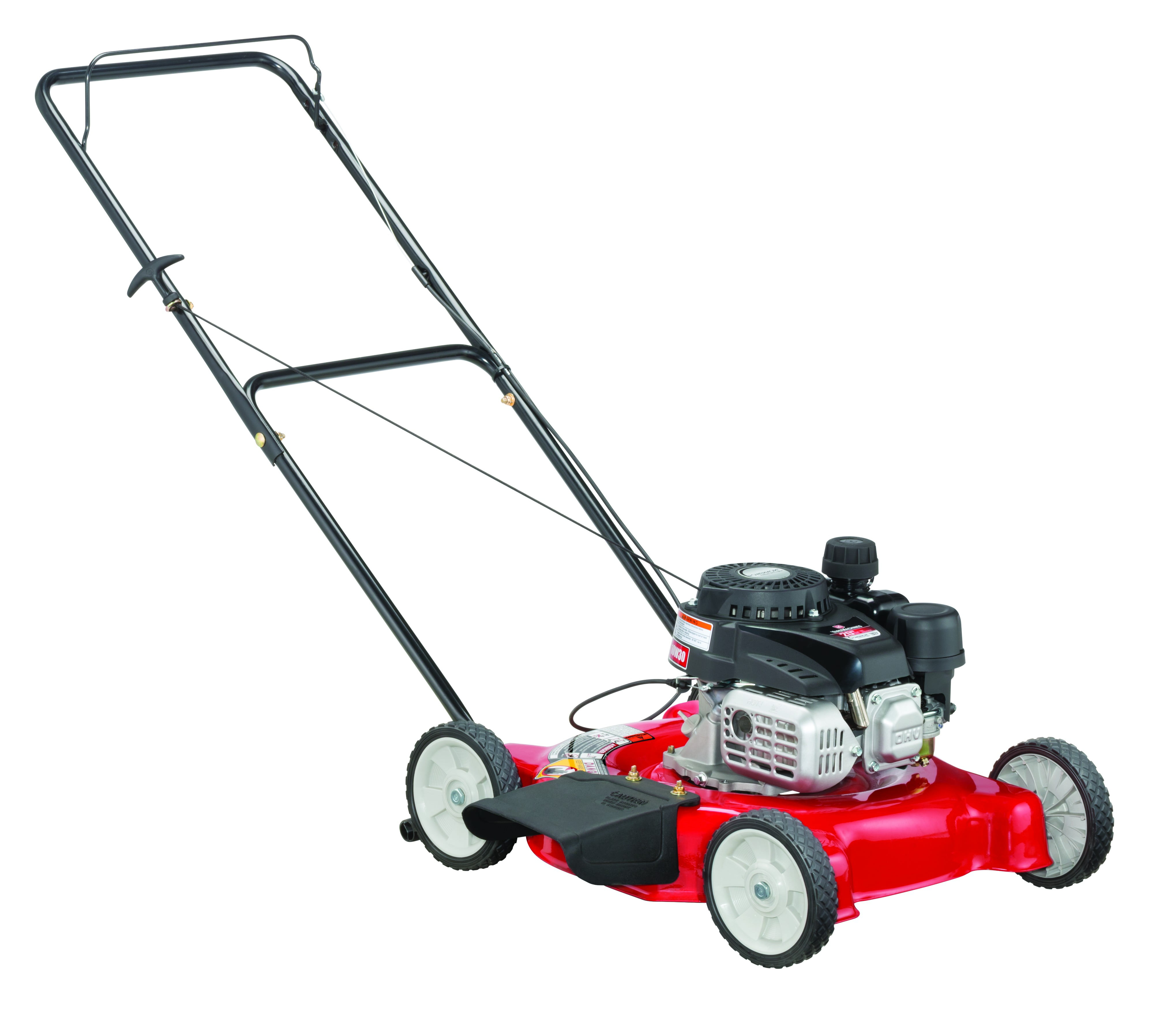 "Yard Machines 20"" Gas Push Lawn Mower with Side Discharge by MTD Products"