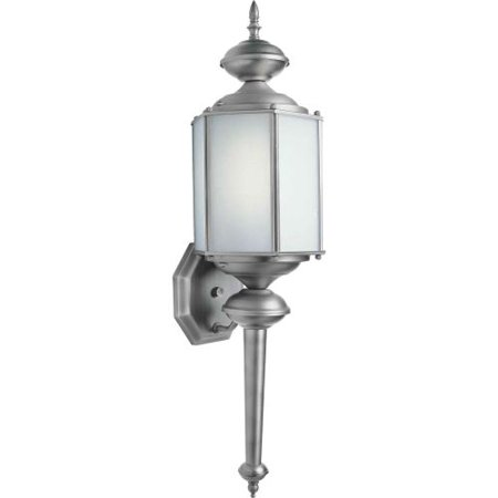 Forte Lighting 10021-01 Energy Efficient Fluorescent Outdoor Wall Sconce 7Wx25Hx