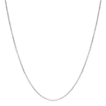 Brass Link Chain (Brass Silver Tone Brass Link Chain, 16)