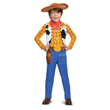 Four Person Halloween Costume (Boy's Woody Classic Halloween Costume - Toy Story)