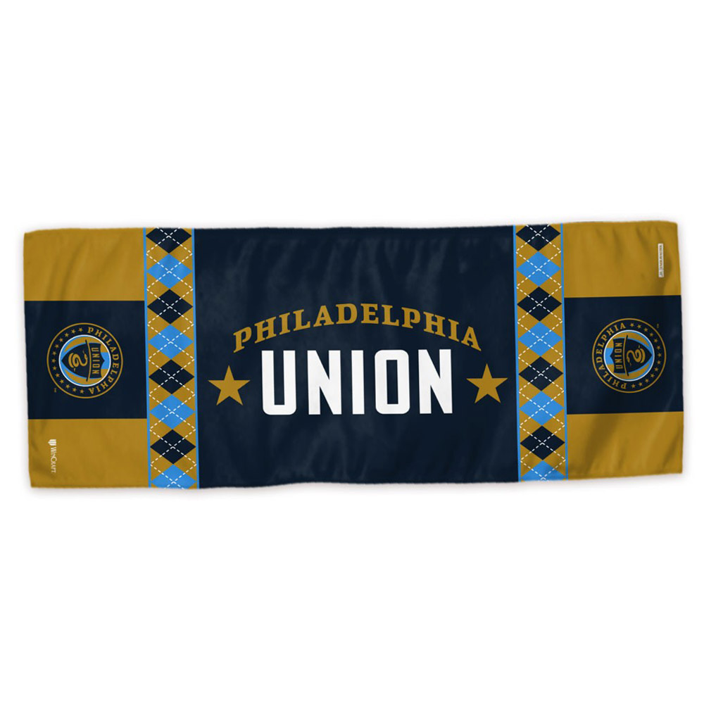 "Philadelphia Union WinCraft 12"" x 30"" Enduracool Cooling Towel - No Size"
