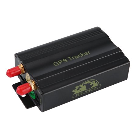 Hot Sale Portable Cars GPS Tracking System GPS SMS GPRS Vehicles Tracker  Locator TK103B With Remote Control Black