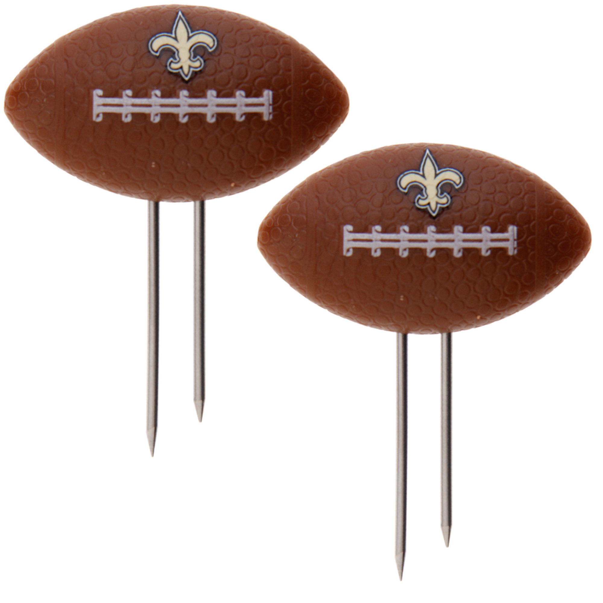 New Orleans Saints 8-Pack Corn Cob Holder - No Size