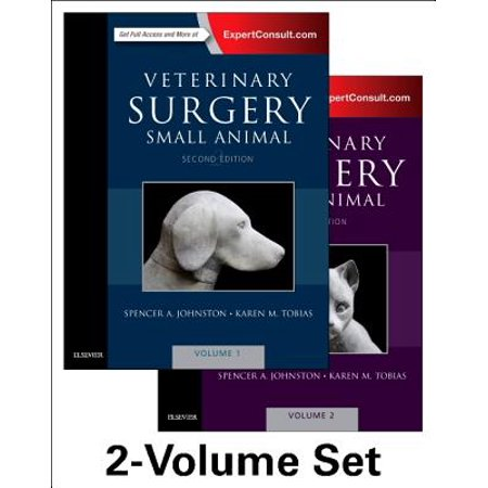 Veterinary Surgery: Small Animal Expert Consult : 2-Volume Set
