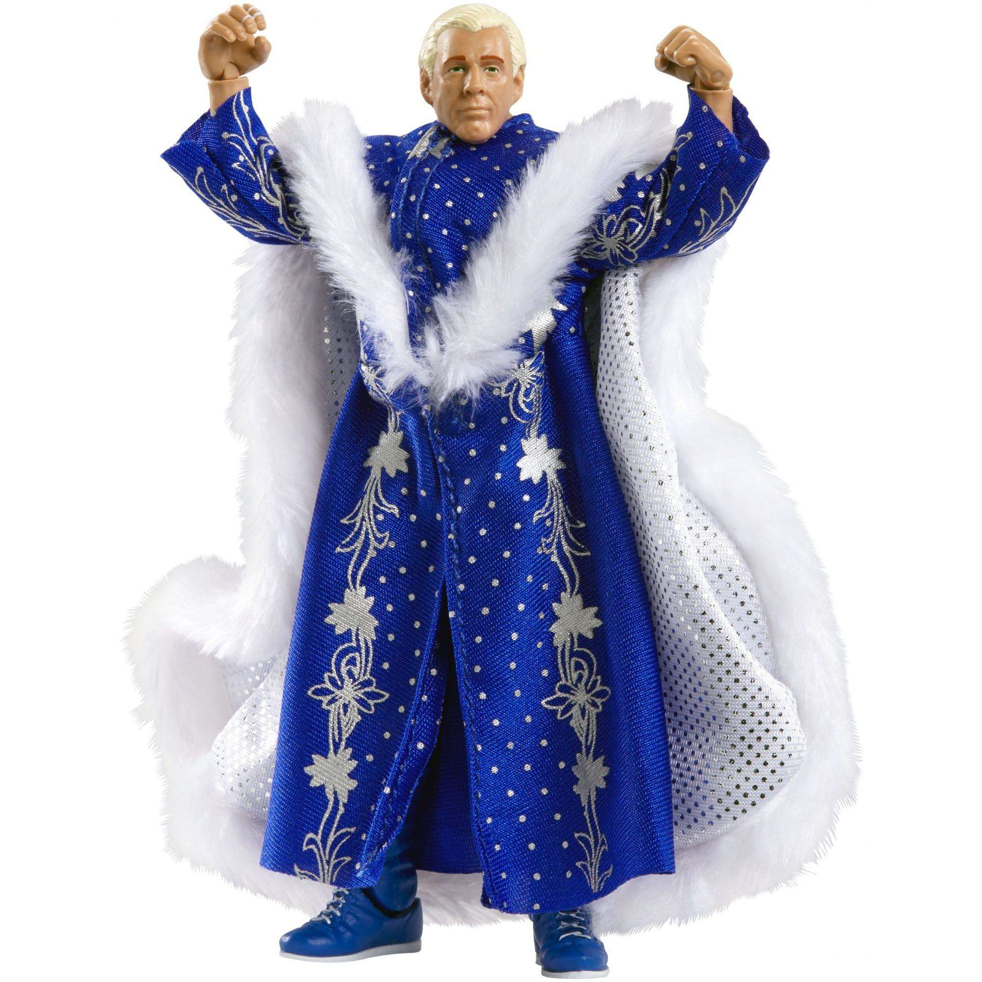 Blue Robe Ric Flair WWE Defining Moments WWE Toy Wrestling Action Figure by Generic