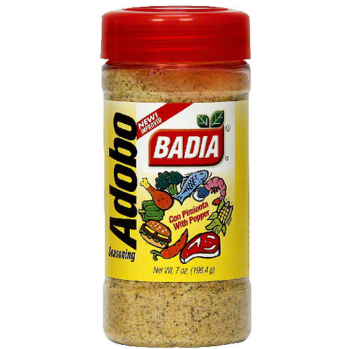 Badia Adobo Seasoning With Pepper, 7 oz (Pack of 6)