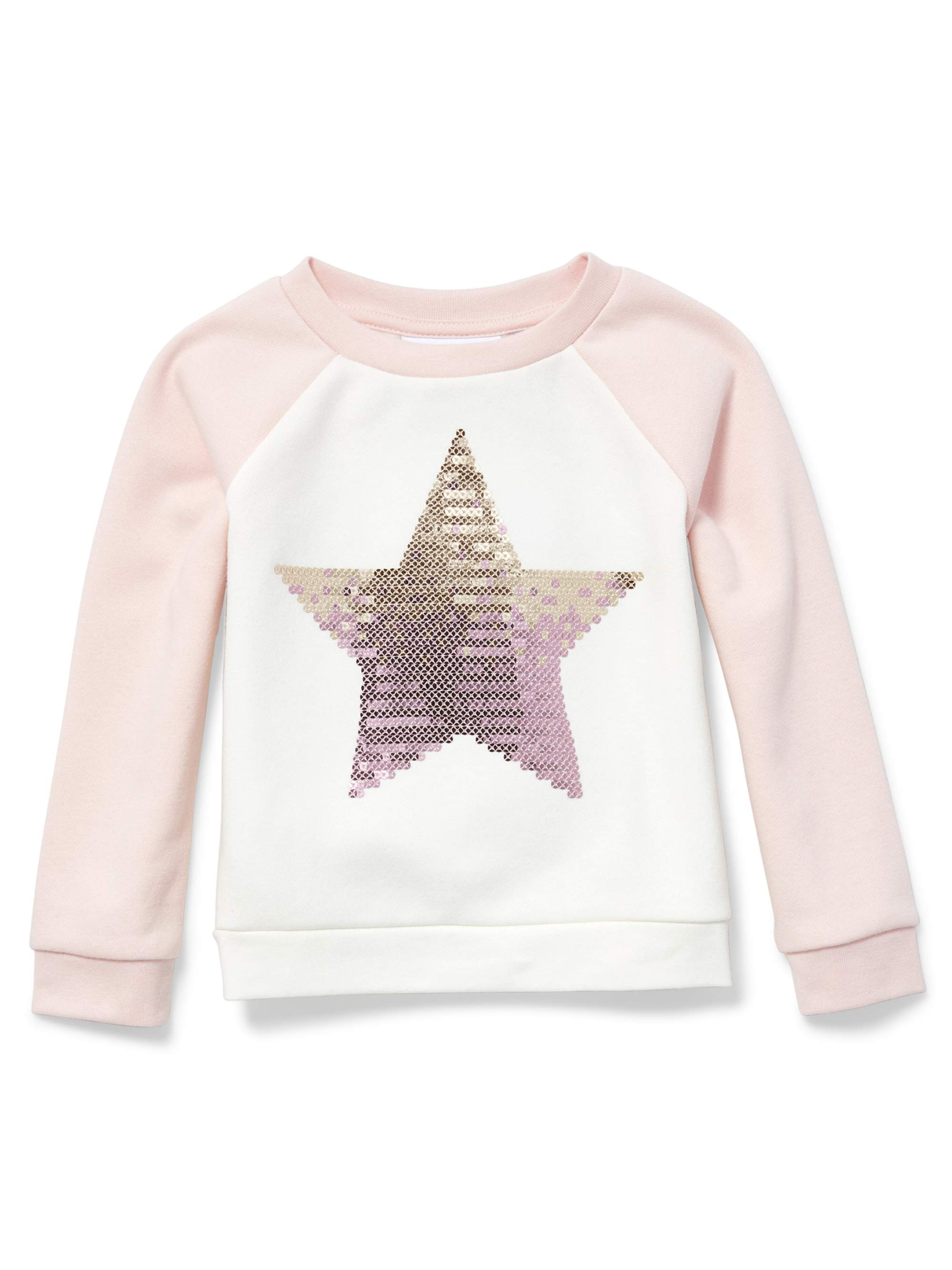 Baby And Toddler Girls Active Long Sleeve Pullover