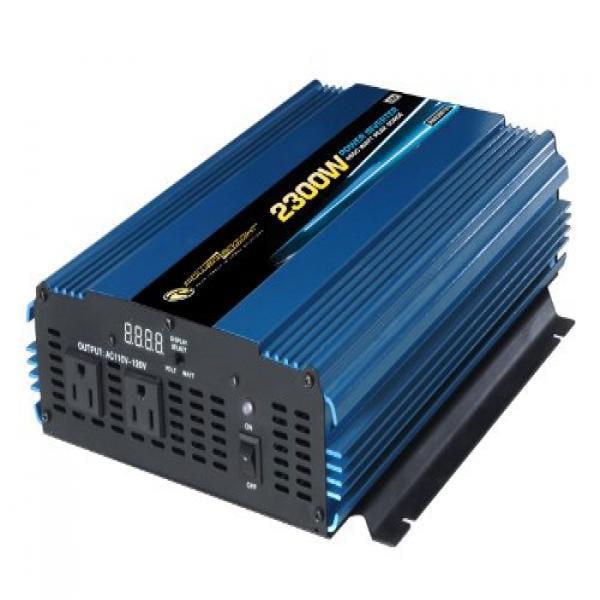 Power Bright PW2300-12 Power Inverter 2300 Watt 12 Volt DC To 110 Volt AC